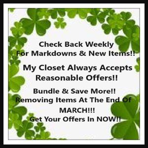 Markdowns & New Items!!